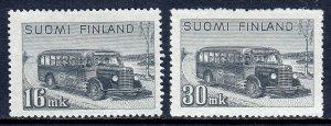 Finland - Scott #253-253A - MH - SCV $3.30