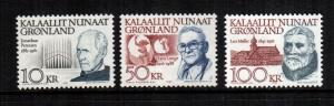 Greenland 242 - 249  MNH cat $60.00