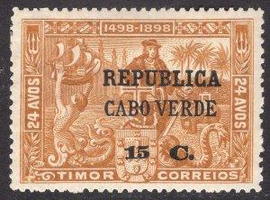 CAPE VERDE SCOTT 135