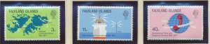 Falkland Islands Stamps Scott #257 To 259, Mint Never Hinged - Free U.S. Ship...