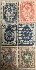 6 Finland Stamp !