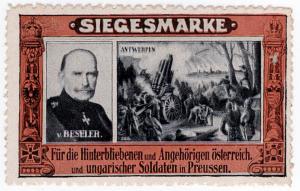 (I.B-CK) Germany (Great War) Cinderella : Siegesmarke (Beseler)