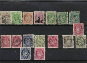norway used stamps ref r8820