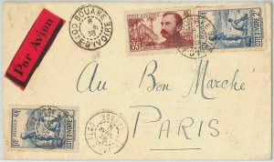 44831 -   IVORY COAST Côte d'Ivoire - POSTAL HISTORY - COVER to FRANCE 1938
