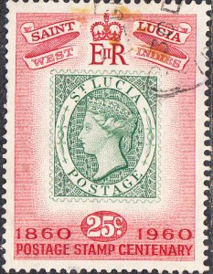 St. Lucia    #178  Used