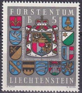 Liechtenstein #533 MNH CV $4.00 (Z4435)
