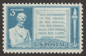 USA stamp, Scott# 978, MNH, Lincoln, #za-26