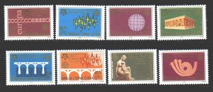 Yugoslavia. 2005. 3257-64. 50 years, Europe CEPT. MNH.