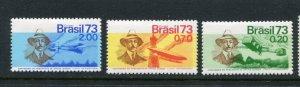 Brazil #1295-7 MNH