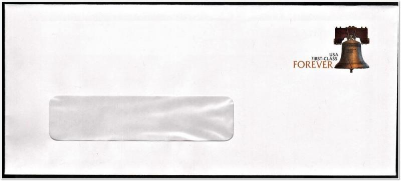 SC#U667 (44¢) Forever Liberty Bell (WA) Envelope Unused