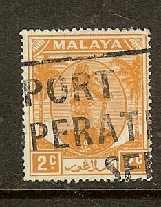 Malaya- Selangor, Scott #81, 2c Sultan Shah, Used