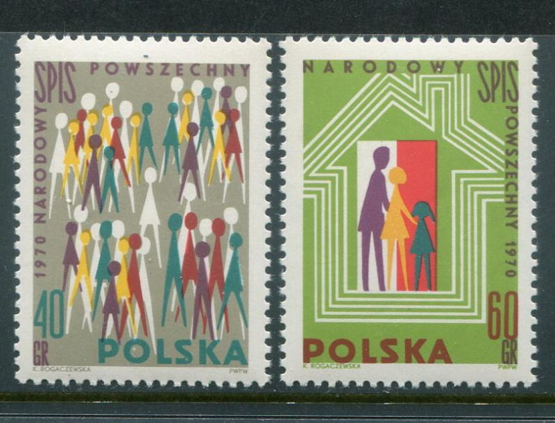 Poland #1758-9 MNH - Penny Auction
