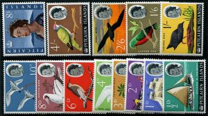 HERRICKSTAMP PITCAIRN ISLANDS Sc.# 39-51 1964-65 QE II Definitive (Birds) NH