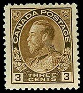 CANADA-f-b-1903-1926 ISSUES (89-140) 108  Mint (ID # 32895)