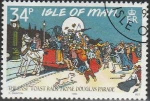 Isle Of Man, #416 Used From 1990