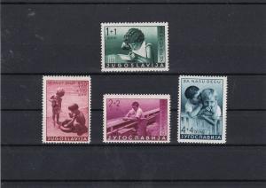 Yugoslavia 1939 Child Welfare Mounted Mint Stamps Ref 30607