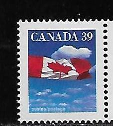 Canada 1166 1987-91 39c Flag single MNH