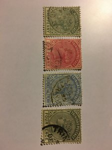 1883-1884 Stamps From Trinidad