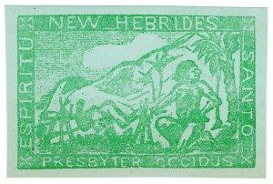 (I.B) New Hebrides Cinderella : Presbyter Cocidus (Cooked Missionary)