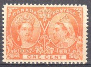Canada #51 Mint VF OG NH C$120.00 -- Jubilee