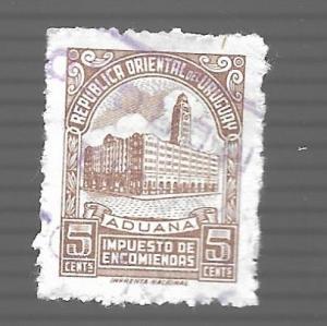 Uruguay 1955 - U - Scott #Q81