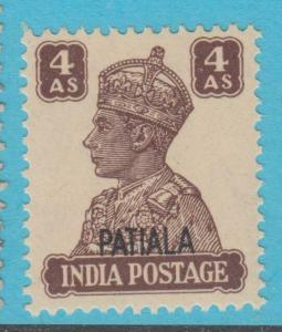 INDIA PATIALA 111 MINT NEVER HINGED OG * NO FAULTS EXTRA FINE !