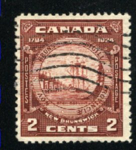 Canada #210   used   VF  PD