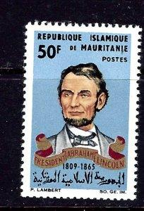 Mauritania 190 MNH 1965 Abraham Lincoln
