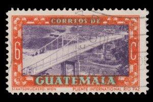 GUATEMALA STAMP 1950. SCOTT # 334. USED.