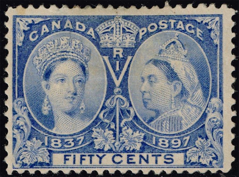 Canada #60 Victoria Jubilee; Unused (2Stars)