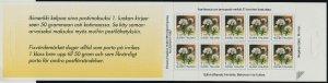 Finland 839a Booklet MNH Flower, Labrador Tea