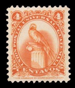 GUATEMALA STAMP 1957. SCOTT # 370. USED. # 4