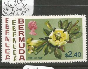 Bermuda SG 263-5 MNH (9cho)