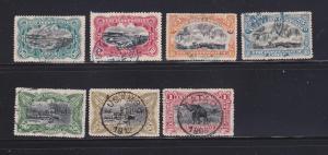 Belgian Congo 18-23, 25 U Various