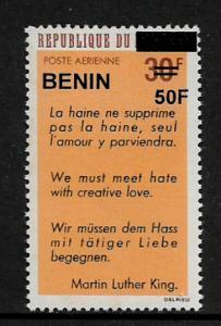 Benin #C561 MNH Stamp - Overprint - 40% Cat.