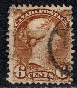 Canada #39  F-VF Used CV $27.50 (X5684)