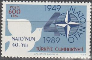 Turkey #2439  MNH F-VF (SU3155)