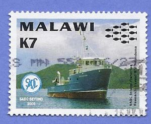 Malawi Scott #697 SADC Beyond, Research Vessel, used