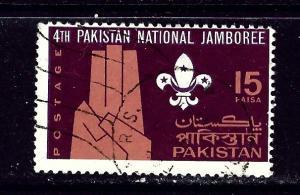 Pakistan 234 Used 1967 Boy Scouts