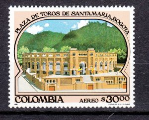 J26946 1981 colombia part of set mh #c706 sports