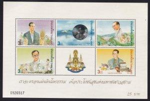 Thailand 1996 Sc 1673a Development Program MNH