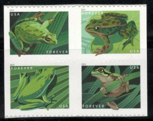 5395-5398 Frogs US Postage Block Of 4 Mint/nh FREE SHIPPING