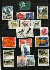 Norway Scott 816-32 Mint NH (1983 Year Pack) - CV $25.80