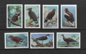 BIRDS - MALDIVES #2201-7  MNH
