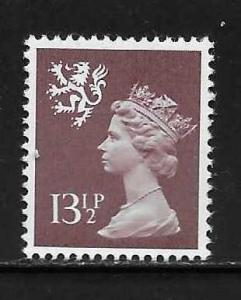 Great Britain Scotland SMH23 13 1/2p Machin MNH