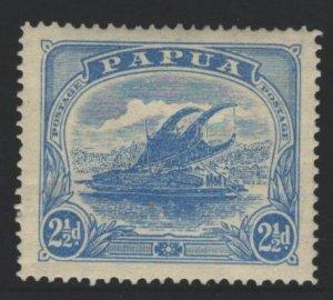 Papua New Guinea Sc#53 MH - 1 tone spot