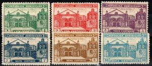 Dominican Republic #260-65 Unused CV $13.55 (X778)