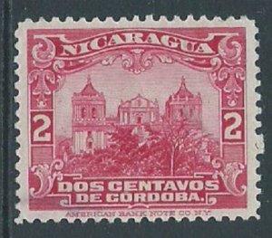 Nicaragua, Sc #410, 2c Used