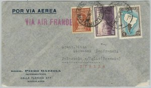 43464  - ARGENTINA - Postal History - AIRMAIL COVER to ITALY Via AIR FRANCE 1939