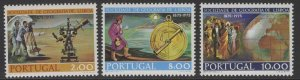 PORTUGAL SG1584/6 1975 NATIONAL GEOGRAPHIC SOCIETY MNH